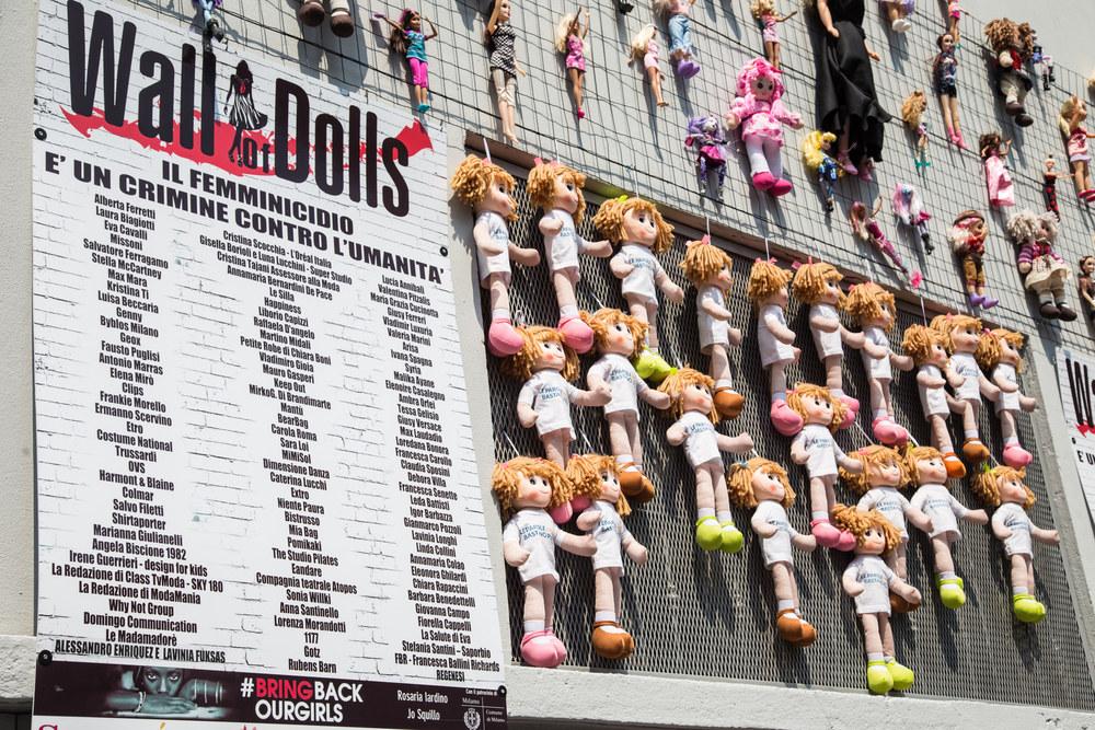 bambole violenza di genere